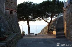 Croce al Castello di Riomaggiore, Cinque Terre, Liguria