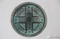 Croce delle Indulgenze al Santuario di Nostra Signora di Montenero, Riomaggiore, Cinque Terre, Liguria