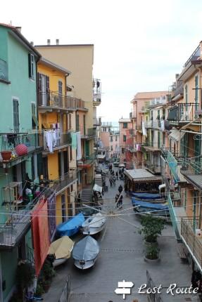 Imbarcazioni in via Birolli a Manarola, Cinque Terre, Liguria #1