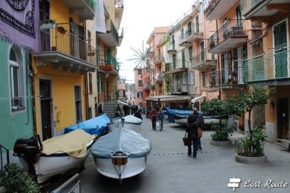 Imbarcazioni in via Birolli a Manarola, Cinque Terre, Liguria #2