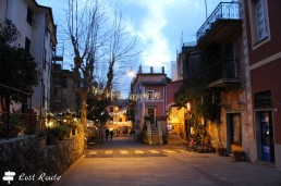In centro dopo il tramonto, Monterosso, Cinque Terre, Liguria