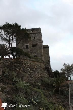 La Torre Aurora del Castello dei Fieschi di Monterosso, Cinque Terre, Liguria