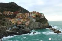 Manarola vista da Punta Bonfiglio, Cinque Terre, Liguria #1