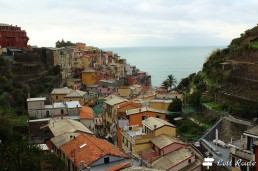 Manarola vista dall'alto, Cinque Terre, Liguria