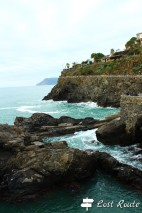 Punta Bonfiglio vista dalla Marina, Manarola, Cinque Terre, Liguria