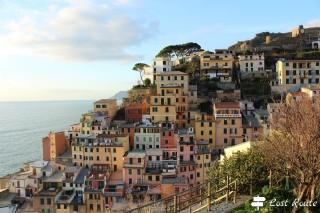 Riomaggiore, vista dal Parco Giochi, Cinque Terre, Liguria