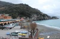 La spiaggia di Monterosso, Cinque Terre, Liguria