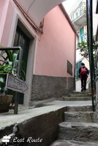 'to the castle', Vernzza, Cinque Terre, Liguria