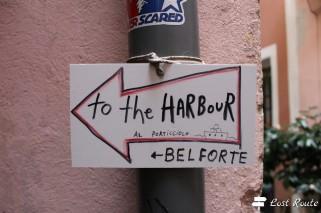 'to the harbour', Vernazza, Cinque Terre, Liguria