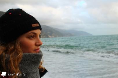 Uno sguardo al tramonto dietro Punta Mesco, Monterosso, Cinque Terre, Liguria