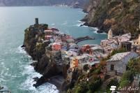 Vernazza vista dal Sentiero Azzurro per Corniglia, Cinque Terre, Liguria