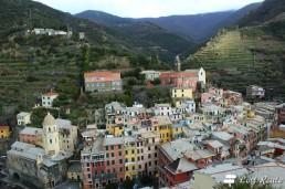 Vernazza vista dalla Torre del Castello, Cinque Terre, Liguria