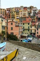 Verso la Marina dal Sentiero Azzurro, Manarola, Cinque Terre, Liguria