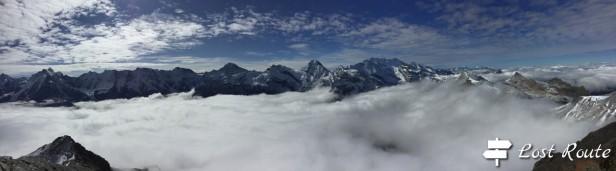 Panoramica dalla vetta dello Schiltorn, Berna, Grand Tour of Switzerland