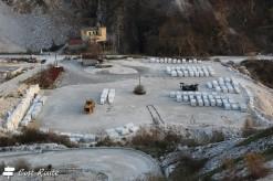 Depositi di marmo sotto alle cave
