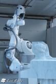 Macchinario per la scultura del marmo alle Cave Fantiscritti